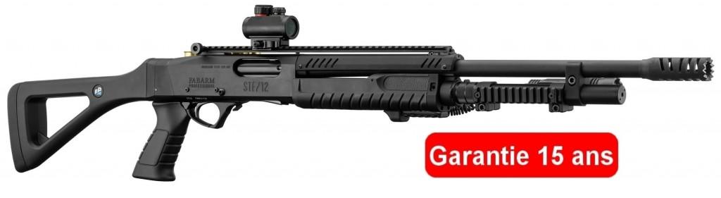 Fusil à pompe FABARM STF12 Tactical Professionnal