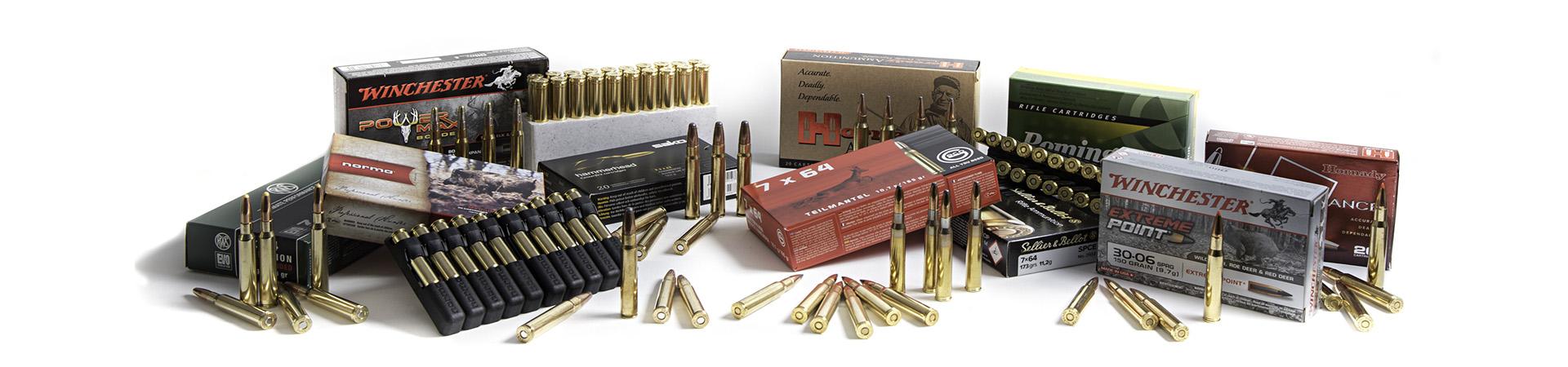 Les munitions de chasse chez Armurerie Lavaux
